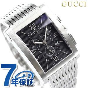 グッチ 時計 メンズ GUCCI 腕時計 Gメトロ クロノグラフ ブラック YA086309【あす楽対応】