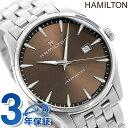 【5日は全品5倍に+4倍でポイント最大21倍】 ハミルトン ジャズマスター ジェント クオーツ 40mm メンズ 腕時計 H32451101 HAMILTON 時計 ブラウン【あす楽対応】・・・