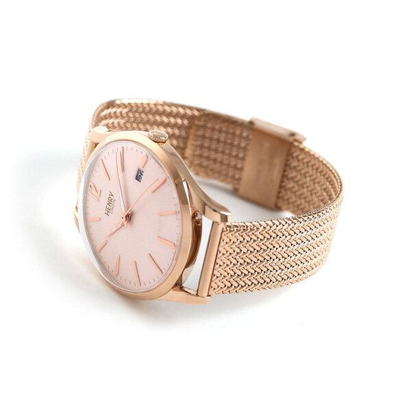 ヘンリーロンドン HENRY LONDON ショーディッチ 39mm HL39-M-0166 腕時計 ピンク 時計【あす楽対応】