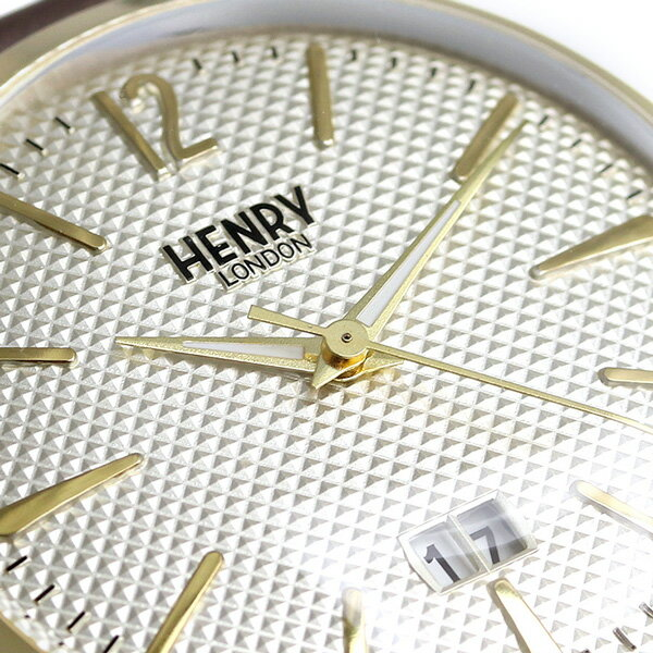ヘンリーロンドン HENRY LONDON ウェストミンスター 41mm メンズ HL41-JS-0016 腕時計 シルバー 時計