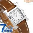 【今ならショッパー プレゼント♪】037961WW00 エルメス Hウォッチ ミニ 17mm スイス製 レディース HERMES 腕時計 新品【あす楽対応】