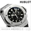 【5日は全品5倍にさらに+4倍でポイント最大31.5倍】 ウブロ HUBLOT ビッグバン スチール クロノグラフ 44mm 自動巻き 301.SX.1170.RX メンズ 腕時計 ブラック 時計【あす楽対応】