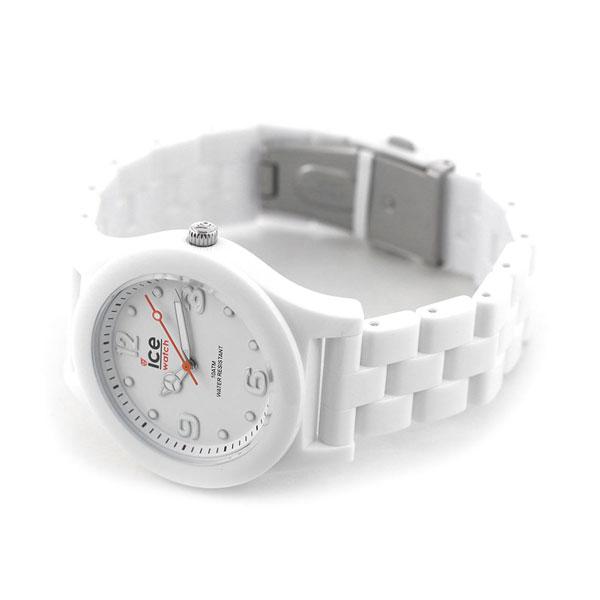 アイスウォッチ ICE WATCH アイススリム ホワイト ミディアム 015776 メンズ レディース 腕時計 時計【あす楽対応】
