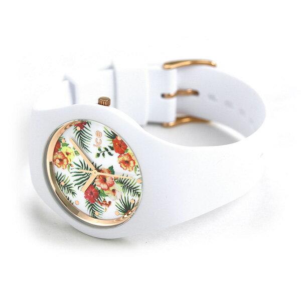 アイスウォッチ アイスフラワー ミディアム 40mm レディース 腕時計 016672 ICE WATCH レジェンド ホワイト 【あす楽対応】