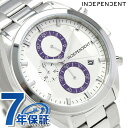 インディペンデント タイムレスライン クロノグラフ メンズ BR2-311-11 腕時計 シルバー 時計