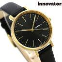 イノベーター エンケル 32mm レディース 腕時計 IN-0008-13 Innovator 革ベルト ブラック 時計