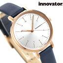 イノベーター エンケル 32mm レディース 腕時計 IN-0008-15 Innovator 革ベルト ブルー 時計【あす楽対応】