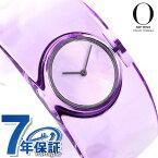 25日当店なら!ポイント最大35倍 イッセイミヤケ バングルウォッチ O オー 吉岡徳仁 日本製 レディース 腕時計 NY0W003 ISSEY MIYAKE パープル 紫 時計