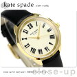 ケイトスペード クロスタウン クオーツ レディース 腕時計 KSW1093 KATE SPADE クリーム×ブラック【あす楽対応】