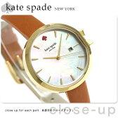 ケイトスペード パーク ロウ 34mm レディース 腕時計 KSW1324 KATE SPADE ホワイトシェル