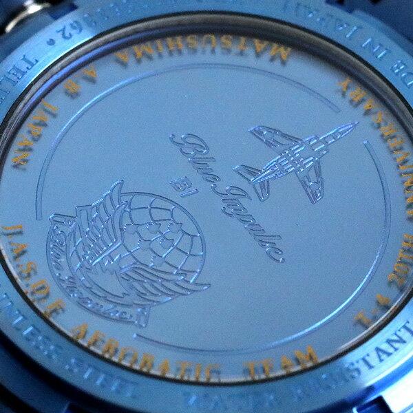 店内ポイント最大43倍!16日1時59分まで! ケンテックス ブルーインパルス T-4 限定モデル ソーラー S720M-02 航空自衛隊 パイロット 腕時計 時計【あす楽対応】