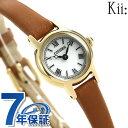 【15日はさらに+4倍でポイント最大27倍】 シチズン キー ラウンドストラップ ソーラー レディース EG2995-28A CITIZEN Kii 腕時計 時計