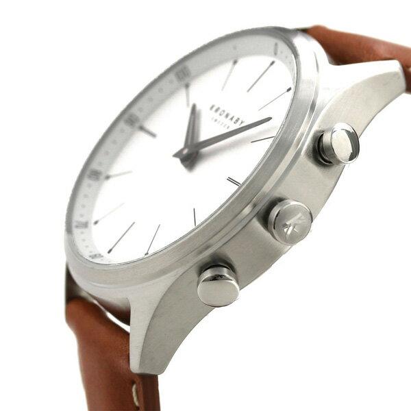 店内ポイント最大43倍!26日1時59分まで! スマートウォッチ 41mm メンズ 腕時計 Bluetooth バイブレーション コネクトウォッチ A1000-3125 クロナビー 時計【あす楽対応】
