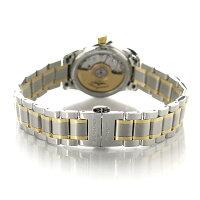 ロンジンマスターコレクション自動巻きレディースL2.128.5.77.7LONGINES腕時計シルバー×ゴールド【対応】