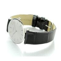 ラグランクラシックドゥロンジンメンズ腕時計L4.709.4.72.2LONGINESシルバー×ブラック【対応】