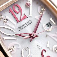【ノート付き♪】セイコールキアサクラ限定モデル電波ソーラーレディースSSVW096SEIKO腕時計ピンク【あす楽対応】