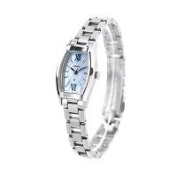 【ギフトバッグ付き】 セイコー ルキア トノー ソーラー レディース 腕時計 SSVR129 SEIKO LUKIA ブルーシェル【あす楽対応】