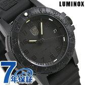 ルミノックス ブラックアウト 0300シリーズ 腕時計 LUMINOX レザーバック シータートル 0301.BO
