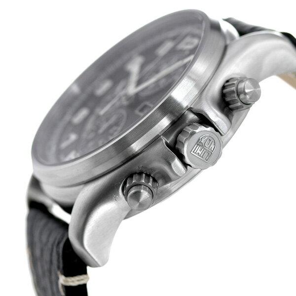 【10日は全品5倍にさらに+4倍でポイント最大32倍】ルミノックス腕時計LUMINOXフィールドスポーツオートマチッククロノレザーベルト1861ブラック時計【あす楽対応】