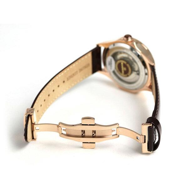 10日なら!店内ポイント最大45倍! マンニーナ MANNINA メンズ 腕時計 フルスケルトン 43mm 自動巻き 替えベルト付 MNN005-04 ダークブラウン 時計