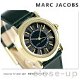 マーク ジェイコブス コートニー 34 クオーツ レディース MJ1490 MARC JACOBS 腕時計 ブラック×グリーン【あす楽対応】