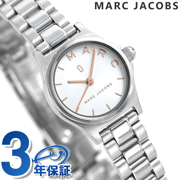 【15日なら全品5倍以上!店内ポイント最大47倍】 マークジェイコブス 時計 ヘンリー レディース 腕時計 MJ3586 MARC JACOBS ホワイト【あす楽対応】