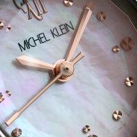 ミッシェルクランエレガントブレスクオーツレディースAJCK086MICHELKLEIN腕時計ピンクシェル