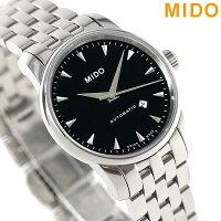 MIDOミドーバロンチェッリ29MM自動巻きレディースM7600.4.18.1腕時計ブラック