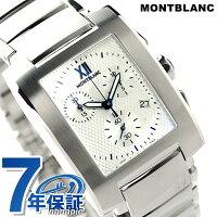 モンブランプロファイルクロノグラフクオーツメンズ101561MONTBLANC腕時計シルバー