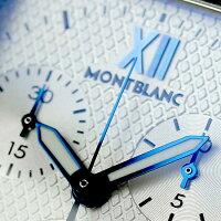 モンブランプロファイルクロノグラフクオーツメンズ101561MONTBLANC腕時計シルバー【対応】