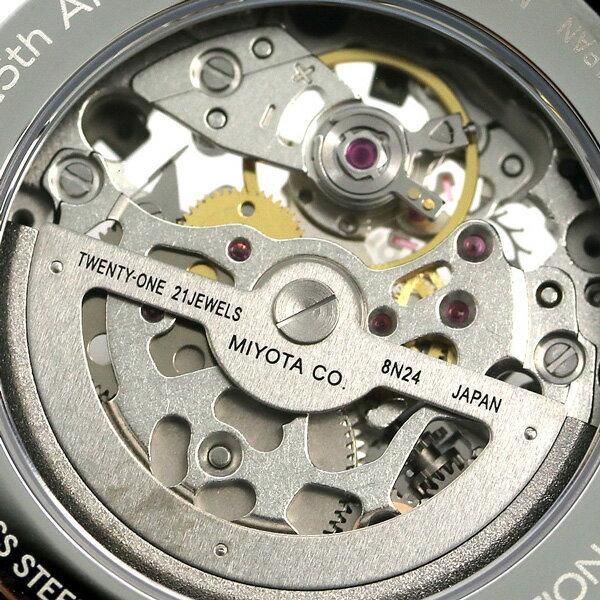 ノーティカ NAUTICA メンズ 腕時計 100m防水 スケルトン 25周年 限定モデル 自動巻き NAPPRH011 ポートホール 時計【あす楽対応】
