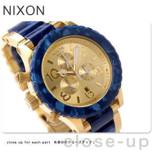 nixon ニクソン 42-20 クロノ GOLD ROYAL GRANITE A0371038nixon ニクソン 腕時計 THE 42-20 CH...