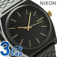 nixonニクソン腕時計TIMETELLERA045タイムテラーマットブラック/ゴールドA0451041