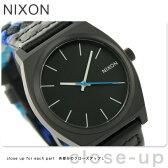 ニクソン A0451936 nixon ニクソン タイムテラー 腕時計 ブラック/ブルーウーヴン