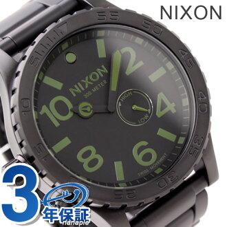 The 51-30 Nixon NIXON watch 51-30 THE matte black / surplus A0571042