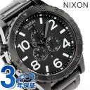 メンズ nixon ニクソン 51-30 クロノ オールブラック A083-001nixon ニクソン 腕時計 THE 51-30...