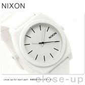ニクソン A1191030 nixon ニクソン 腕時計 タイムテラーP マットホワイト