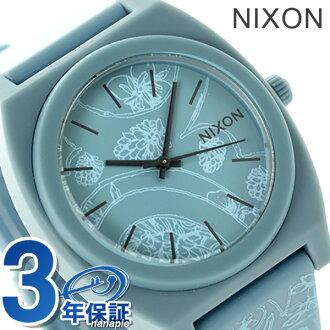 Nixon time teller p P medium size watch A1191973 NIXON quartz A119 blue / Paisley P19Jul15