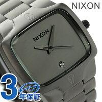 ニクソンプレイヤーダイヤモンドメンズ腕時計A1401062nixonA140クオーツマットブラック/マットガンメタル