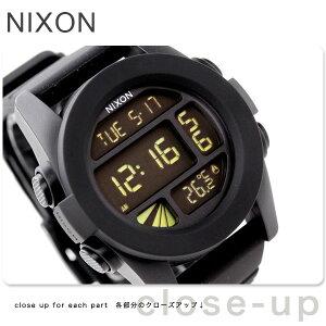 【エントリーでポイント合計9倍!】nixon ニクソン UNIT デジタル BLACK A197-000nixon ニクソン...
