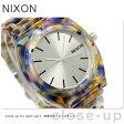ニクソン A3271116 nixon ニクソン 腕時計 タイムテラー アセテート ウォーターカラー アセテート【あす楽対応】