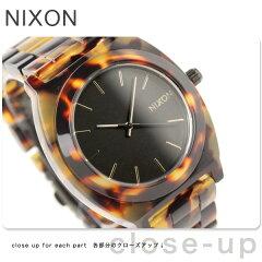 【エントリーでポイント5倍!!】ニクソン 腕時計 nixon TIME TELLER ACETATE TORTOISE A327-646...