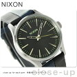 ニクソン A3771938 nixon ニクソン セントリー 38 腕時計 ブラック/ネイビー/ブラック