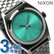 ニクソン A3991697 nixon ニクソン スモールタイムテラー レディース 腕時計 ガンメタル/ライトブルー