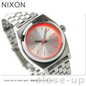ニクソン A3991764 nixon ニクソン スモールタイムテラー レディース 腕時計 シルバー/ネオンピンク