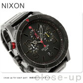 ニクソン A4861320 nixon ニクソン 腕時計 48-20クロノ オールブラック/マルチ THE 48-20 CHRONO 【あす楽対応】