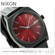 ニクソン A0451886 nixon ニクソン タイムテラー クオーツ 腕時計 ブラックゲーター