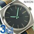 ニクソン タイムテラー クオーツ 腕時計 A0452079 NIXON ネイビー/ネイビー ストライプ【あす楽対応】