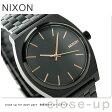 ニクソン A045957 nixon ニクソン タイムテラー クオーツ 腕時計 オールブラック/ローズゴールド【あす楽対応】