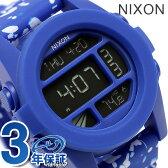 ニクソン ユニット デュアルタイム メンズ 腕時計 A1972303 nixon コバルトスポックル